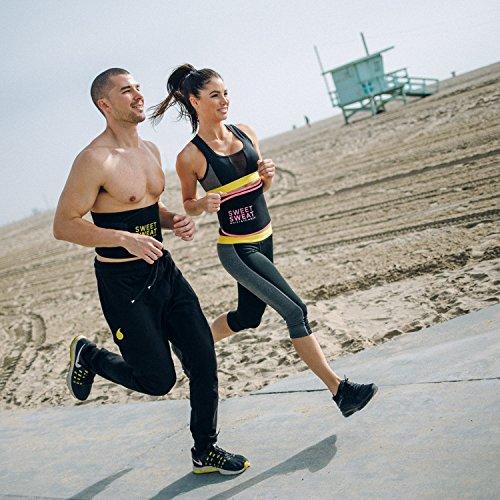 Sports Research Pink 1 belt Sweet Sweat Waist Trimmer