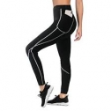 TrainingGirl High Waist Sauna Sweat Pants for Women